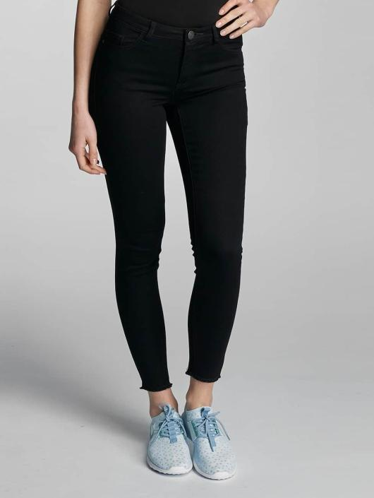 JACQUELINE de YONG Skinny Jeans jdySkinny Low Holly Ancle black