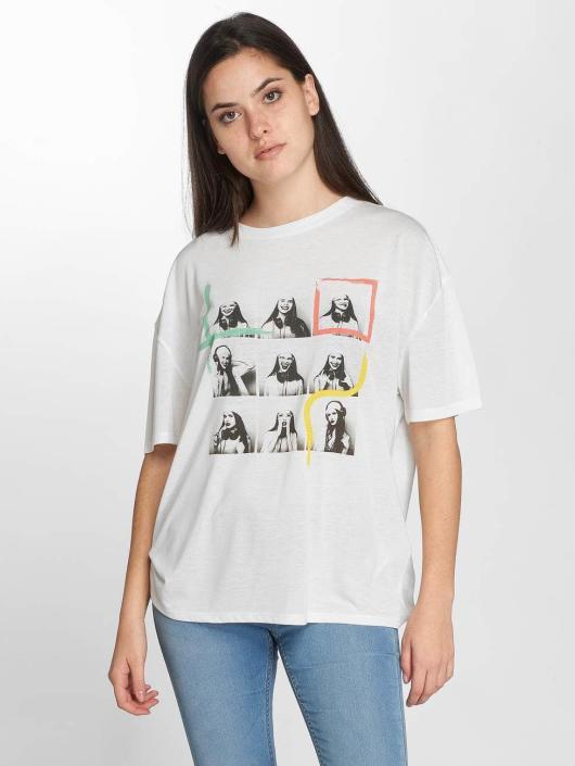 JACQUELINE de YONG T-Shirt jdyCarolina white