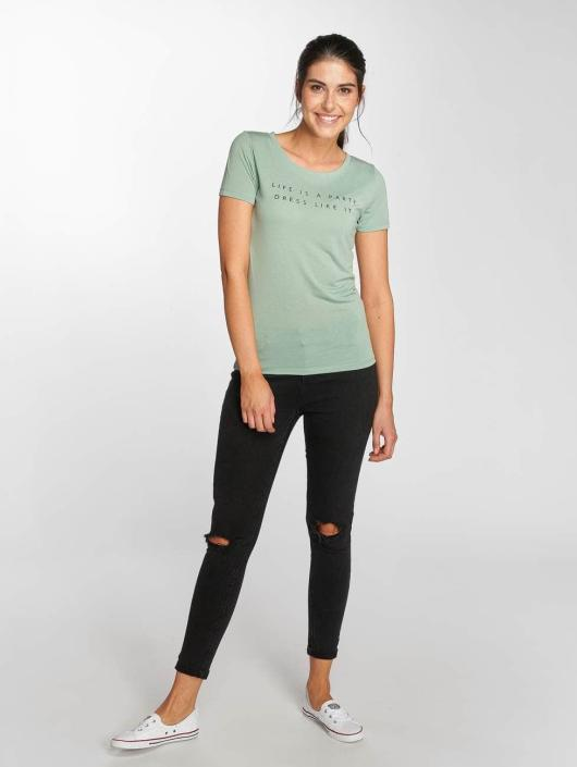 JACQUELINE de YONG T-shirts jdyRainbow grøn
