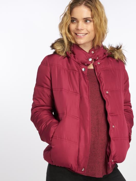 JACQUELINE de YONG Winter Jacket jdyElena red