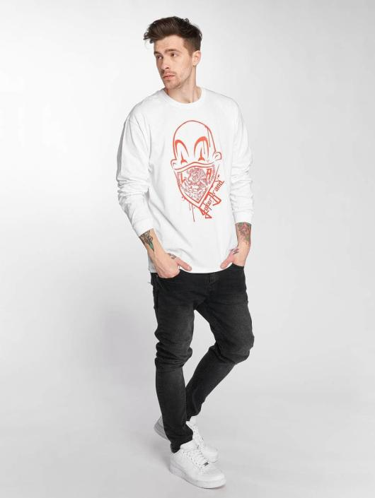 Joker Longsleeve Clown Brand wit