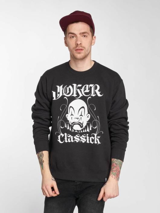 Joker Pullover Classick Clown schwarz