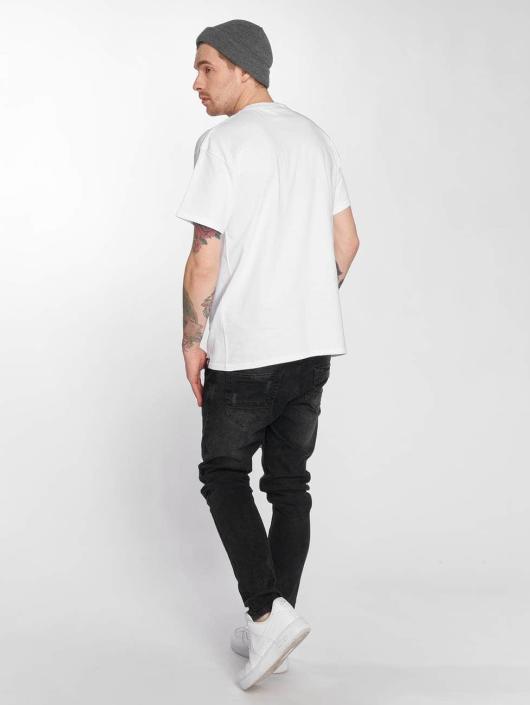 Joker T-Shirt Gun blanc