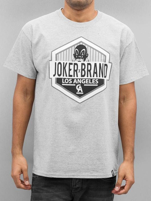 Joker T-Shirt LA CA grau