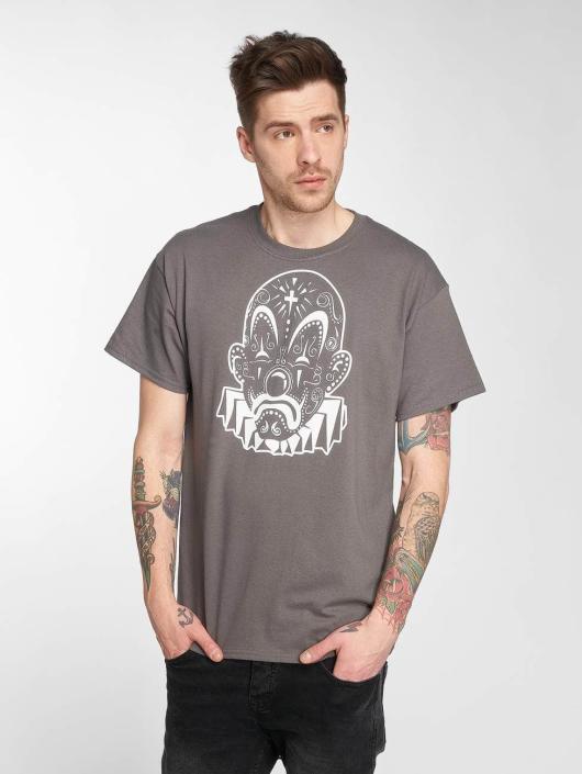 Joker T-Shirt Mexico Clown gray