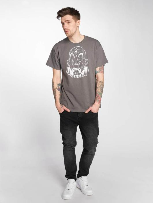 Joker T-Shirt Mexico Clown gris