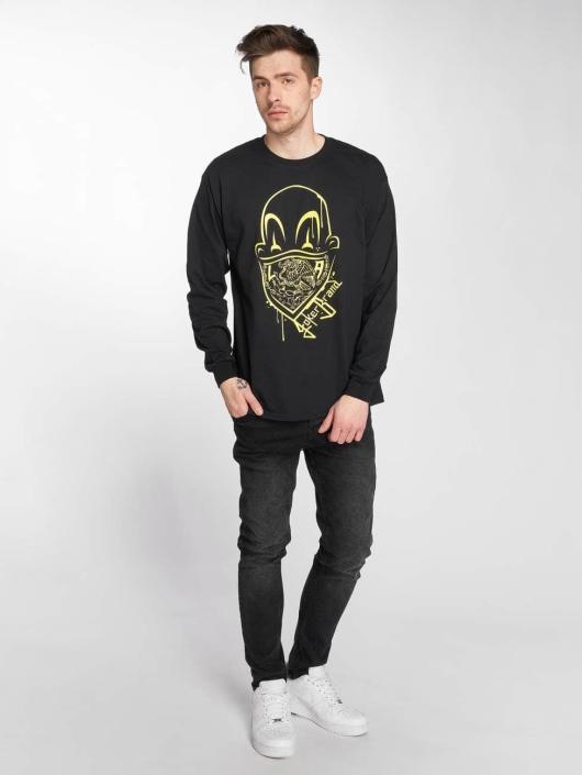 Joker T-Shirt manches longues Clown Brand noir