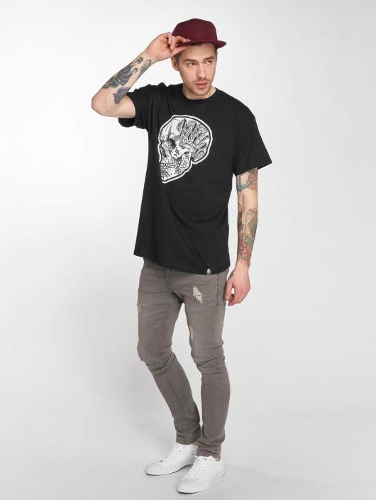 Joker T-Shirt Skull noir