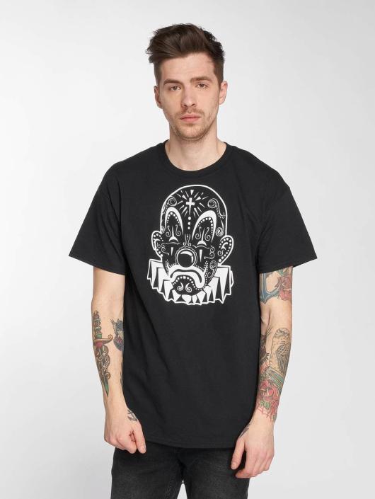 Joker T-Shirt Mexico Clown schwarz