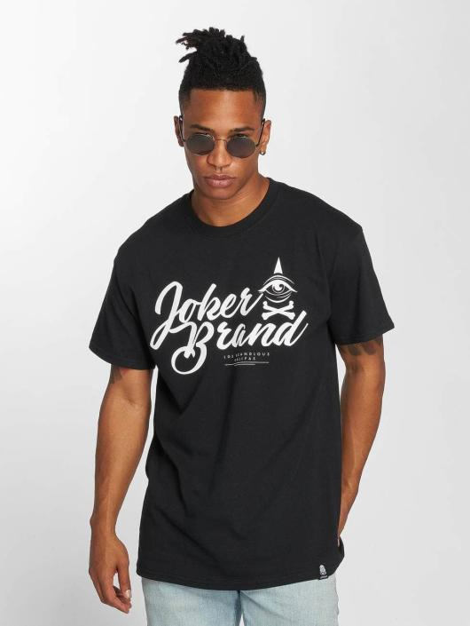 Joker T-Shirt Brand schwarz