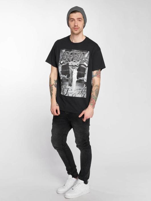 Joker T-shirt Gun svart