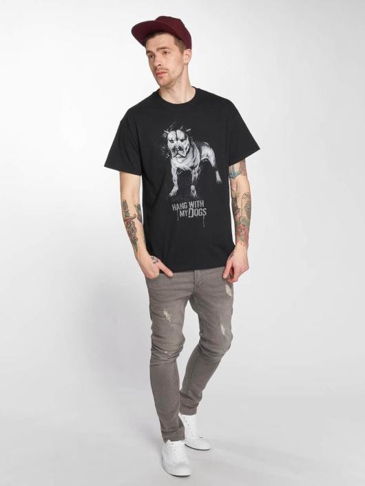 Joker t-shirt Dogs zwart