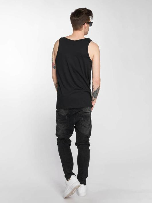 Joker Tank Tops Clown Brand nero