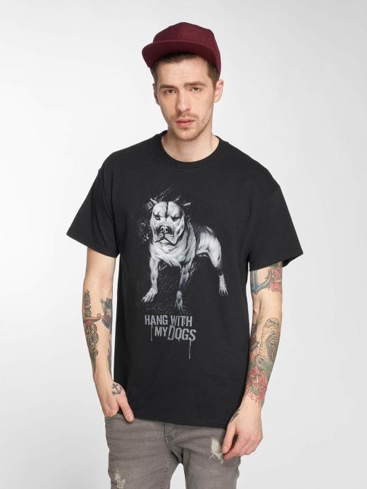 Joker Tričká Dogs èierna