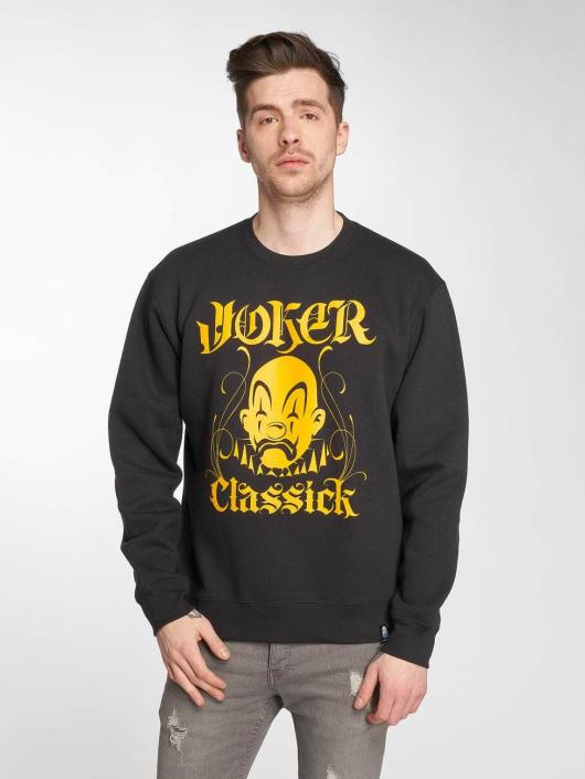 Joker Tröja Classick Clown svart
