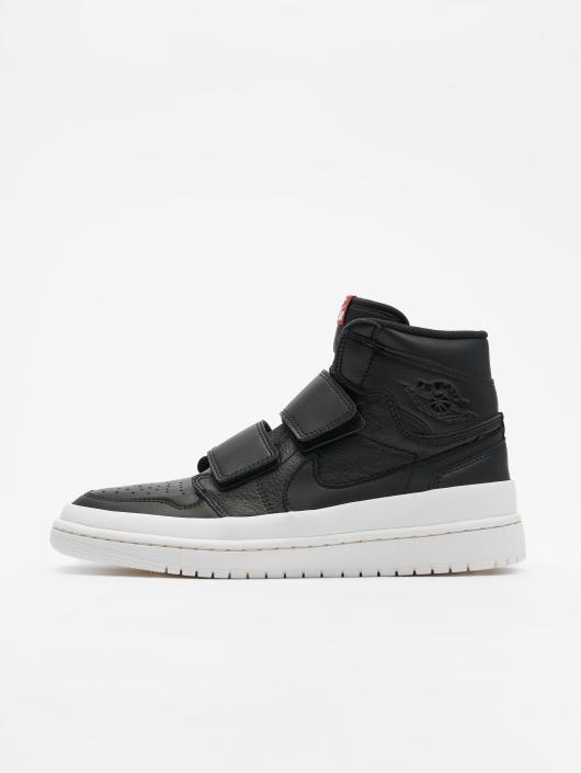 Jordan Baskets Air 1 Retro High Double Strap noir