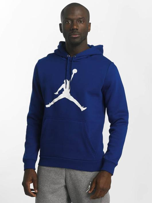 Jordan Hoodie Flight Fleece Jumpman Air blue