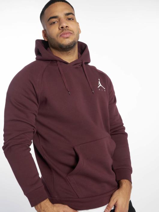 Jordan Hoodie Jumpman Fleece red