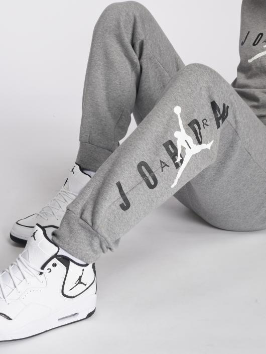 Jordan joggingbroek Sportswear Jumpman Air Graphic Fleece grijs