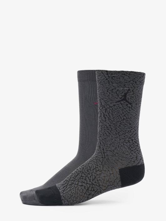 Jordan Socks 2-Pack Elephant gray