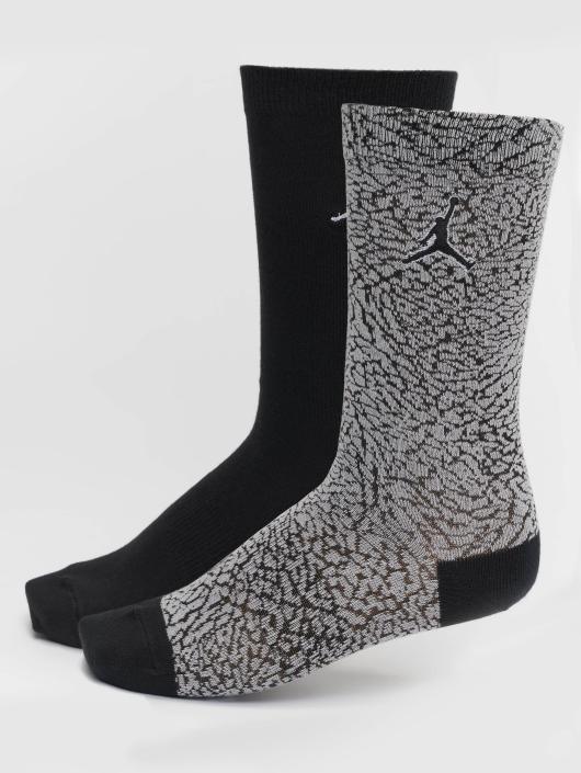 Jordan Socks 2-Pack Elephant Crew gray