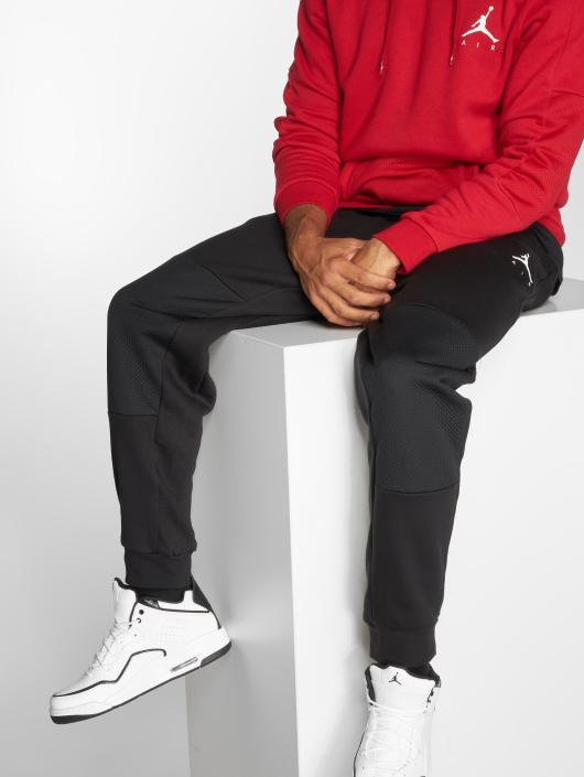 Jordan Spodnie do joggingu Sportswear Jumpman Hybrid Fleece czarny