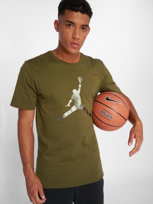 fe61073e1d3ee9 ... Jordan T-Shirt Sportswear Iconic Jumpman olive ...