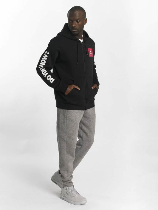 Jordan Zip Hoodie Sportswear AJ 3 Flight schwarz