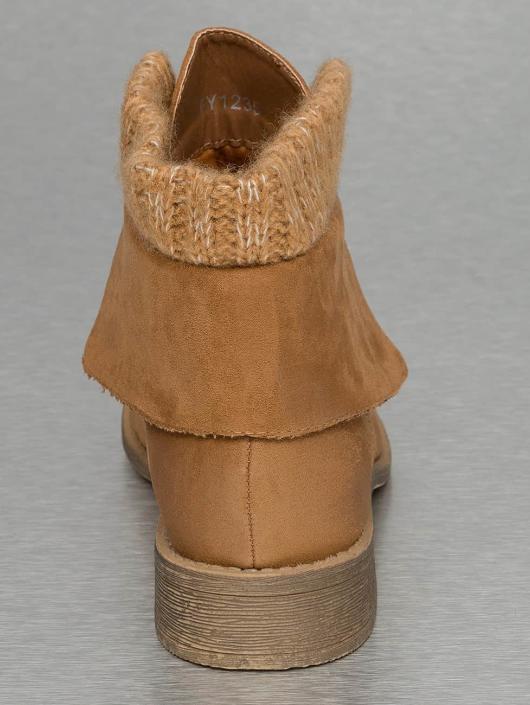 Jumex Stiefelette Wool braun