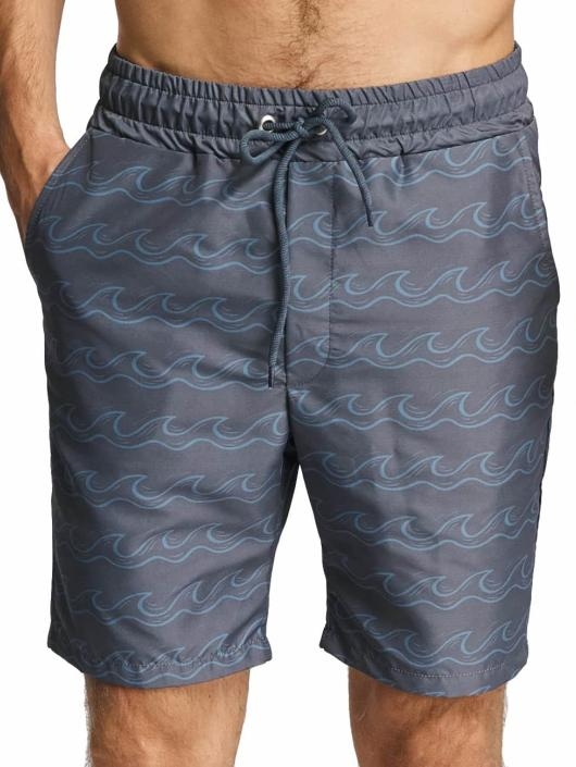 Just Rhyse Badeshorts Salton City grau