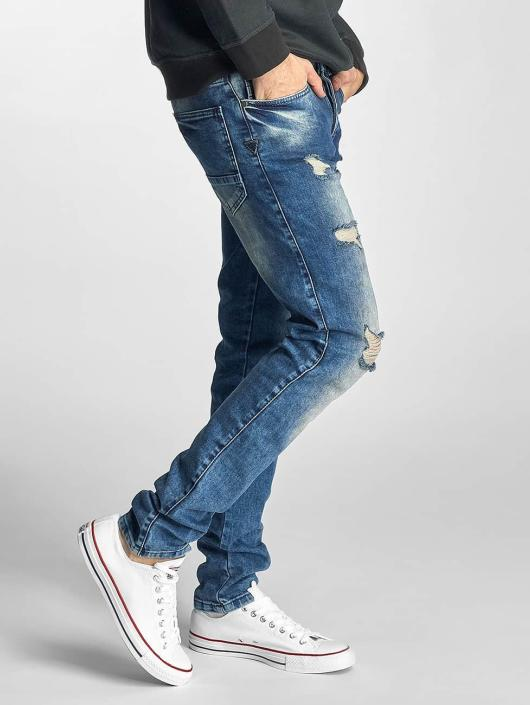 Just Rhyse Dżinsy straight fit Destroyed niebieski