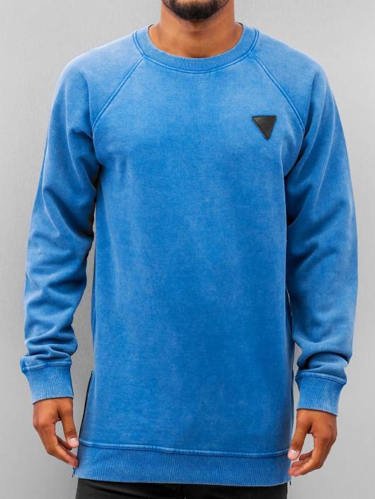 Just Rhyse Pullover Zip blau