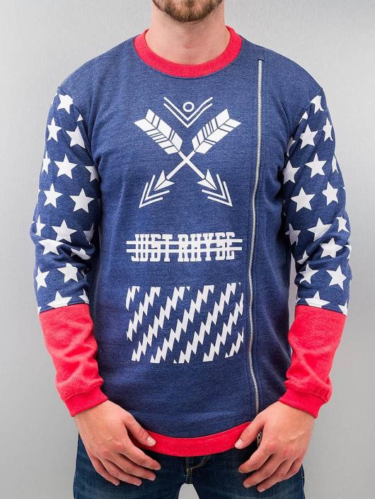 Just Rhyse Pullover Star blue
