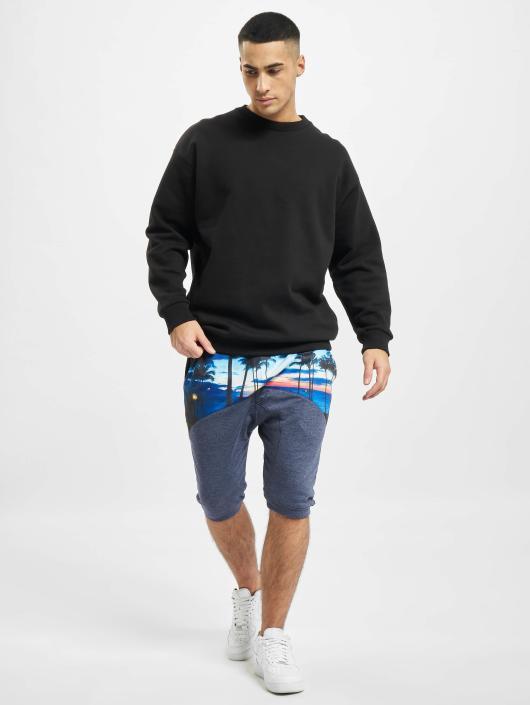 Just Rhyse Shorts Palms blau