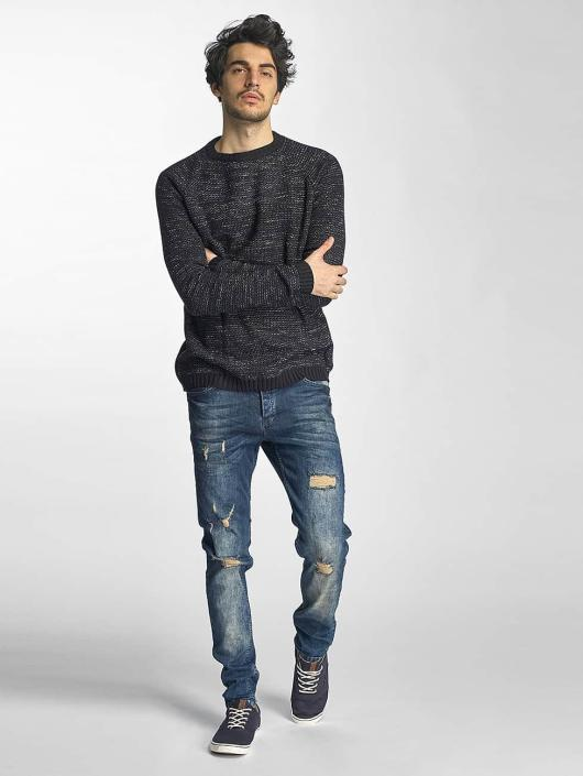 Just Rhyse Straight Fit Jeans Destroyed blå