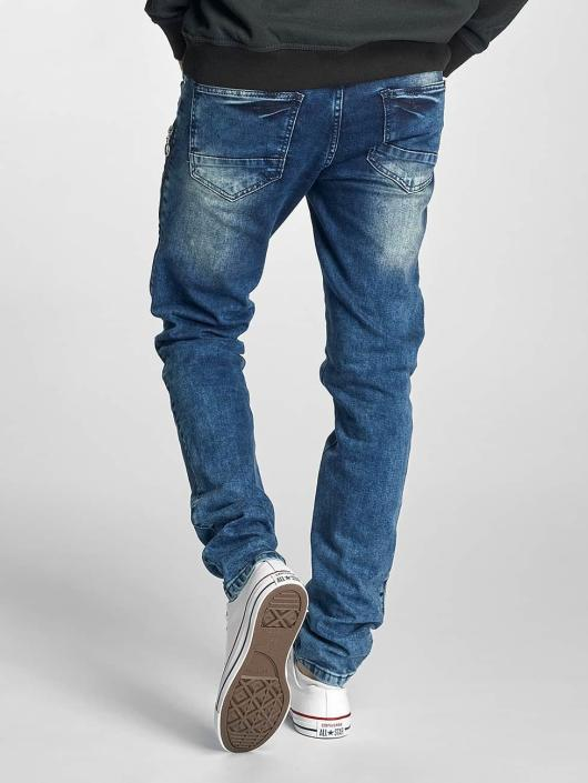 Just Rhyse Straight Fit Jeans Destroyed blau