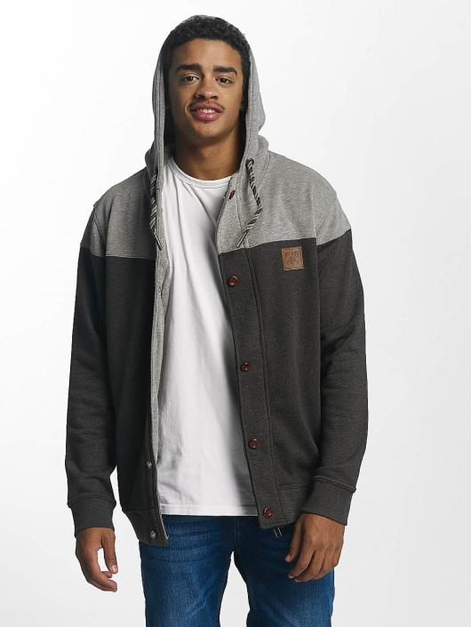 Homme Rhyse Gris Capuche Zippé 336278 Sweat Ocotillo Just IHDWE92
