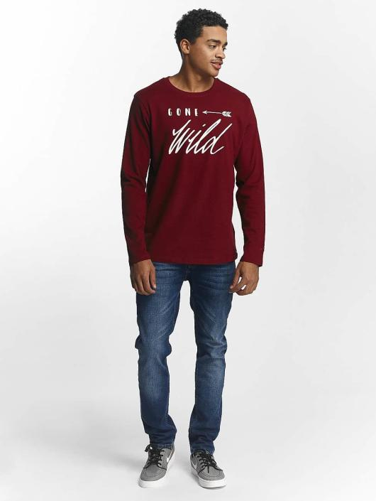 Rhyse T shirt Naukati Just Longues Manches 269990 Rouge Homme H29DWIE