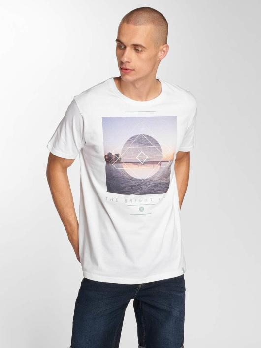 Just Rhyse T-Shirty Parachique bialy