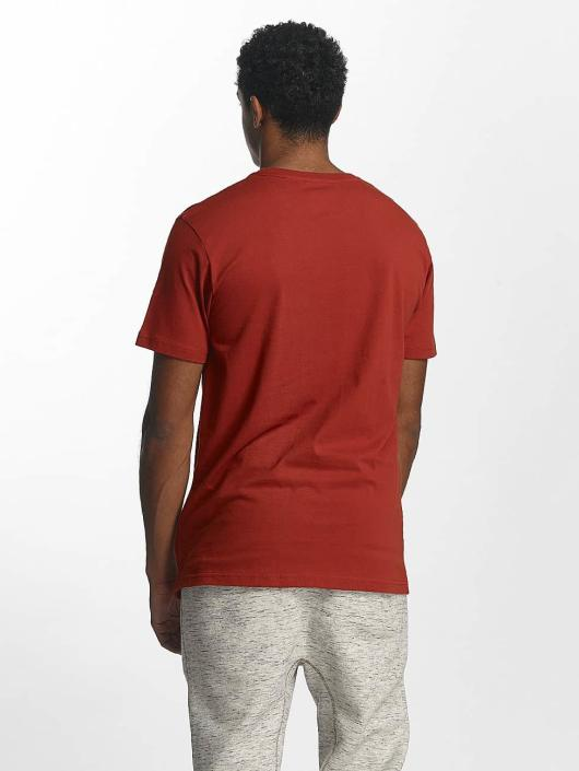 Just Rhyse T-Shirty Kasaan czerwony