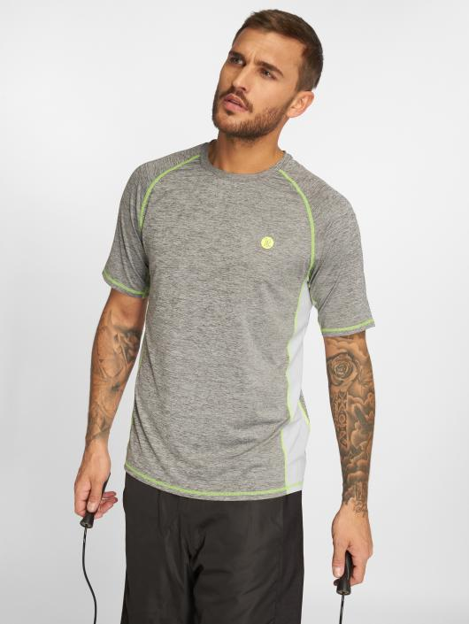 Just Rhyse T-Shirty Adelaide Active szary
