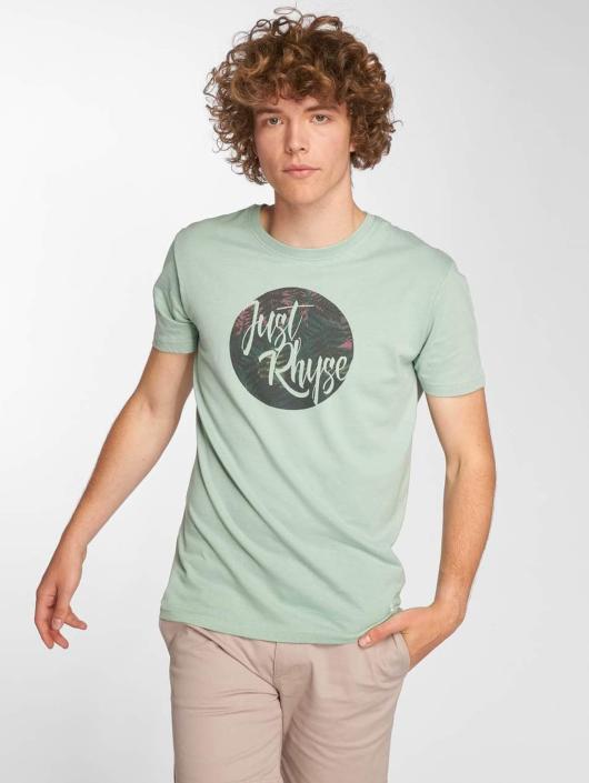 Just Rhyse T-Shirty La Arena turkusowy