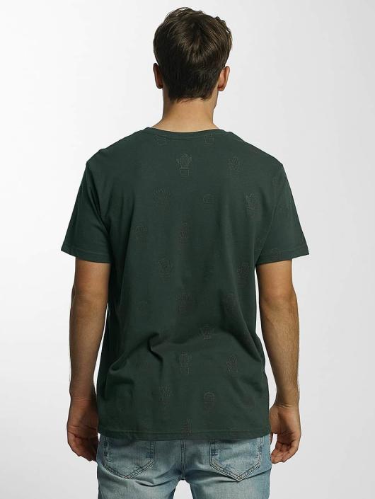 Just Rhyse T-Shirty Cedarville zielony