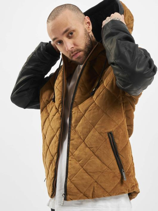 Just Rhyse Winterjacke Quilted beige