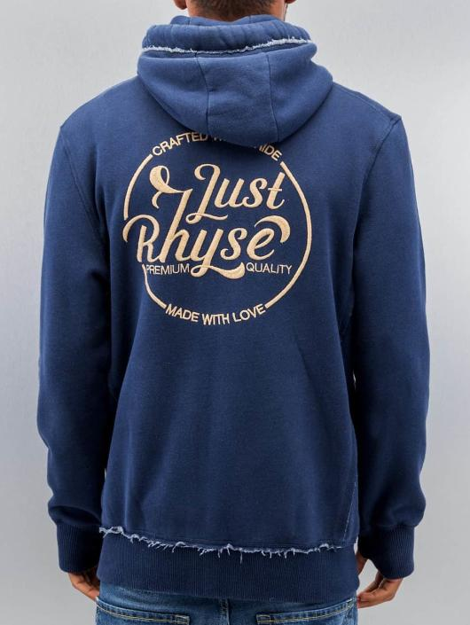 Just Rhyse Zip Hoodie MMXII blau