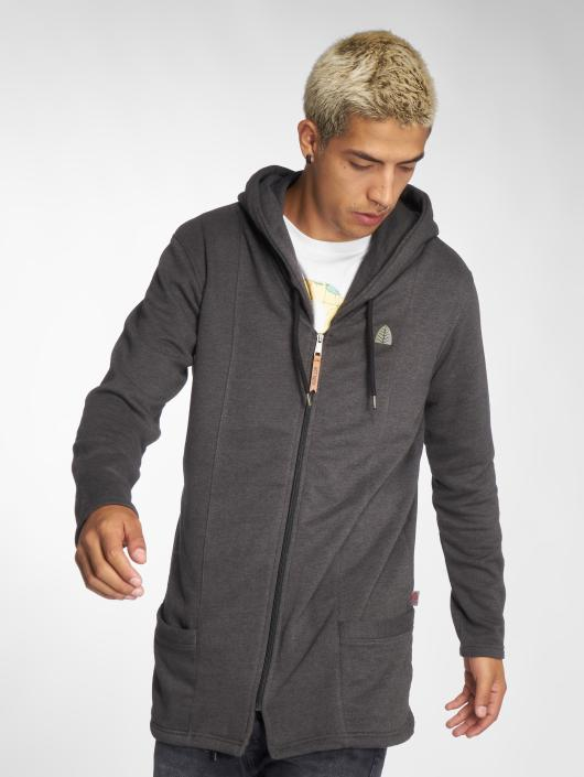 Just Rhyse Zip Hoodie Elfin Cove gray