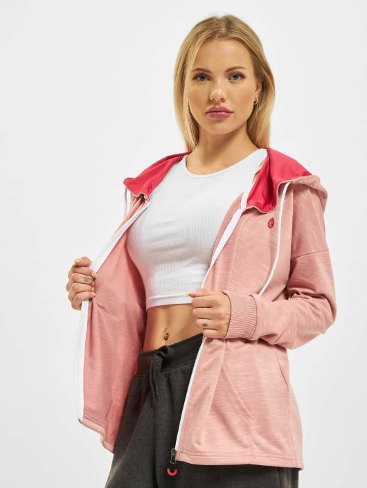Just Rhyse Zip Hoodie Akatore Active rosa