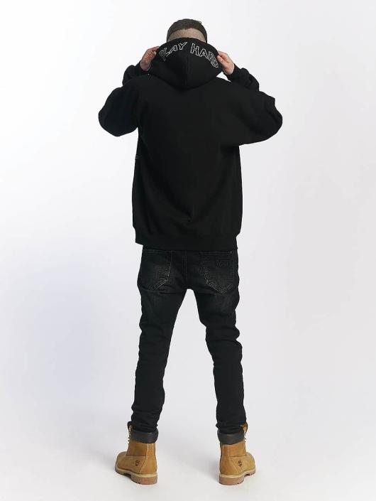 K1X Bluzy z kapturem Smile czarny