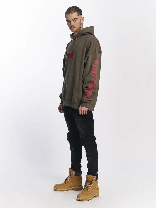 K1X Bluzy z kapturem NOH Patch khaki