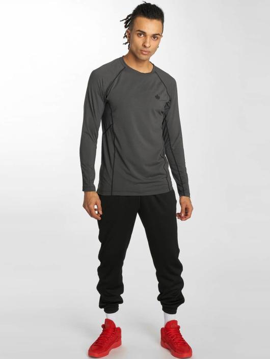 K1X Core T-Shirt manches longues Compression gris